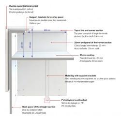 Banque d'accueil design sur mesure - DUCHATEL