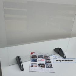 Cloison de protection bureau en plexiglas - PROTEC