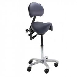 Siège assis-debout ergonomique