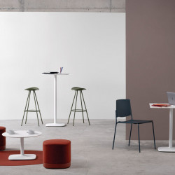 Table haute de cafétéria H110cm