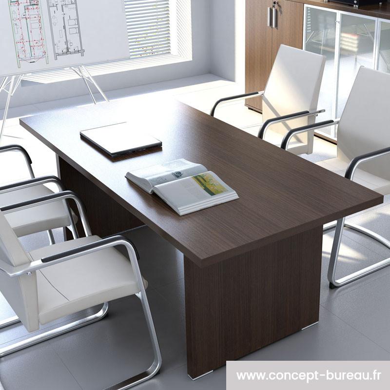 Table de réunion 4 personnes design