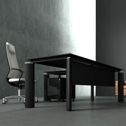 Grand bureau noir