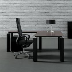 Bureau noir design