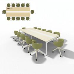 Table de réunion 12 personnes