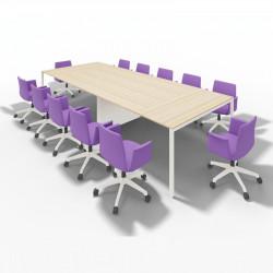 Grande table de réunion 12 personnes
