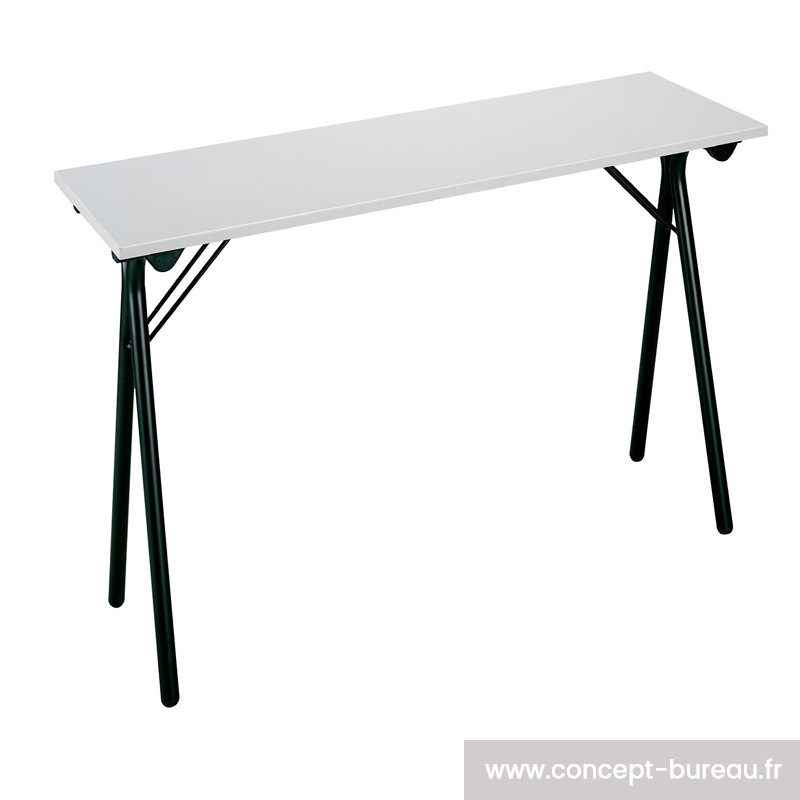 Table de formation pliante 120 x 40cm