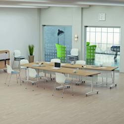 Table rectangulaire à plateau basculant CLAIRBOIS