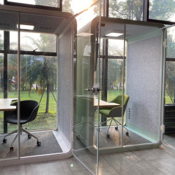 Cabine de bureau open space