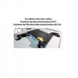 Système de décontamination de l'air par UV-C