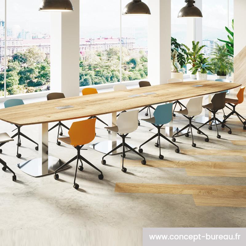 Chaise de réunion design pour salle de réunion