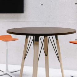 Table de réunion ronde design