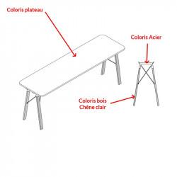 Table de réunion haute design - REAU