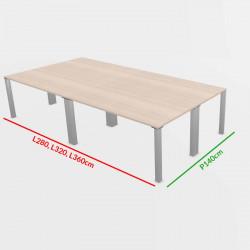 Table de réunion 12-16 personnes
