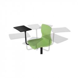 Chaise avec tablette 360°
