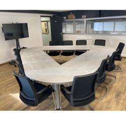 Table de réunion pour 10-12 personnes