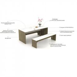 Table de coworking - PARTAGE