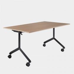 Table de réunion rabattable