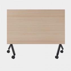 Table de réunion sur roulettes