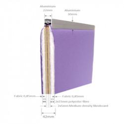 Ecran de séparation pour isolation phonique super absorbante - BUNLI