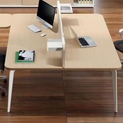 Bureau bench design pour 2 personnes - DAYRE