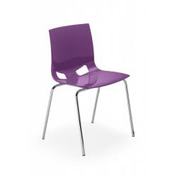 Chaise polypro GLOSSY - Le lot de 4