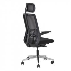 Siège de bureau ergonomique soutien lombaire