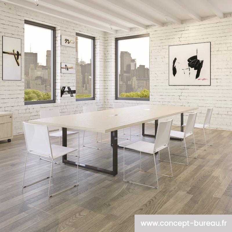 Table de réunion rectangulaire