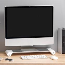 Rehausseur écran ordinateur avec ports USB
