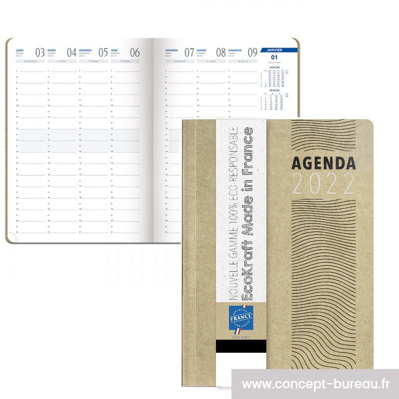 Agenda éco-responsable 2022 17x24cm