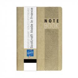 Bloc-notes A5 en kraft écologique