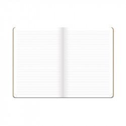 Cahier 15 x 21 en kraft écologique
