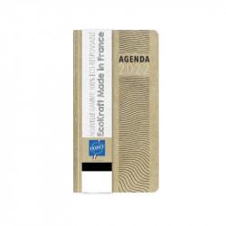 Agenda de poche semainier écologique 2022