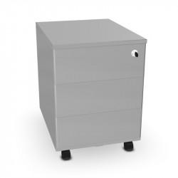 Caisson mobile 3 tiroirs en métal - MUZE