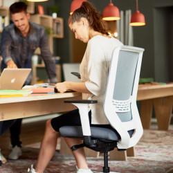 Siège de travail ergonomique