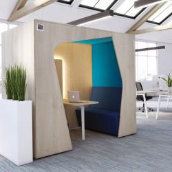 Isolation phonique bureau