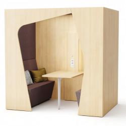 Box acoustique open space