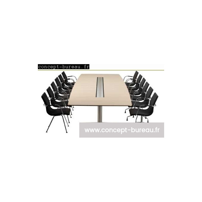 Tables de réunion ébenisterie Atlas