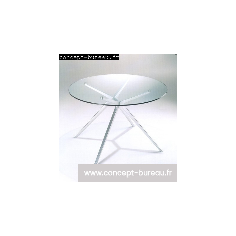 Tables de reunion en verre EX
