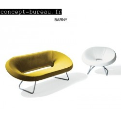 Chauffeuses et canapes pour accueil Barny