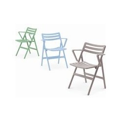 Mobilier exterieur foldin air chair with arms
