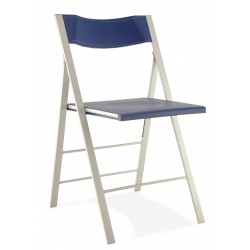 Chaise pliante Argal coloris bleu