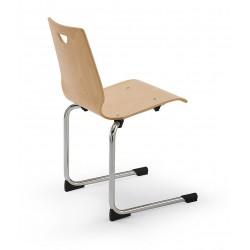 Chaise coque en bois SITZ,