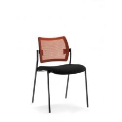 Chaise multi-usages TOURZELLE résille orange