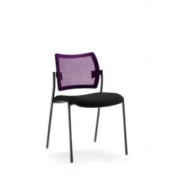 Chaise multi-usages TOURZELLE résille violette