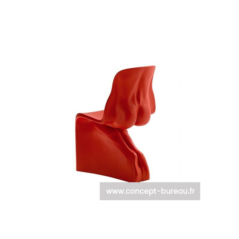 Chaise design HIM version rouge