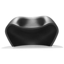 Chauffeuse de détente LOVELY coloris noir