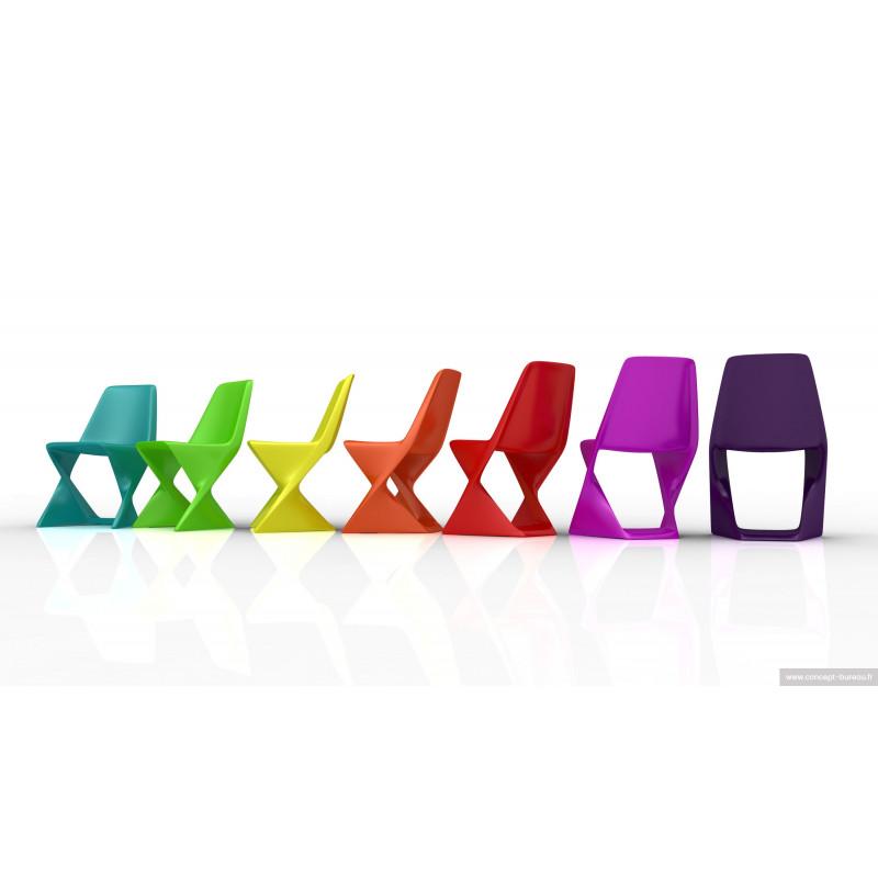 Chaise intérieur-extérieur ISO un large choix de couleurs vives