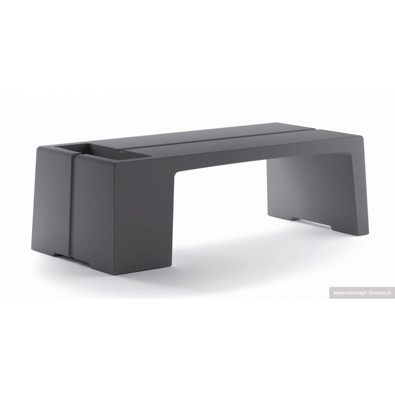 Table basse KARLA coloris anthracite