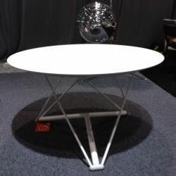 Table réglable en hauteur LEM version blanc