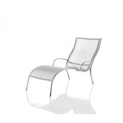 Chaise de longue PASO DOBLE de coloris Blanc